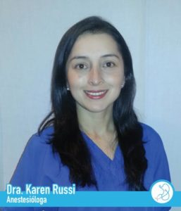 Anestesióloga Doctora Karen Rossi